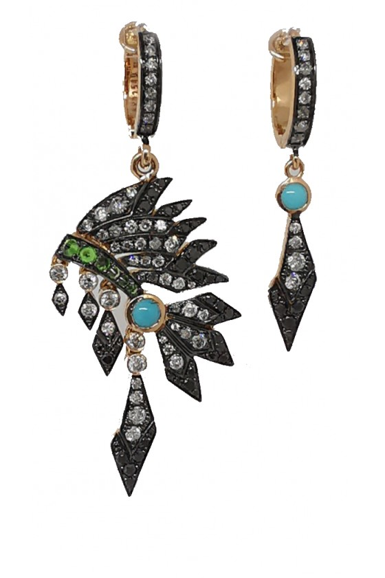 """Chaman"" Earrings"