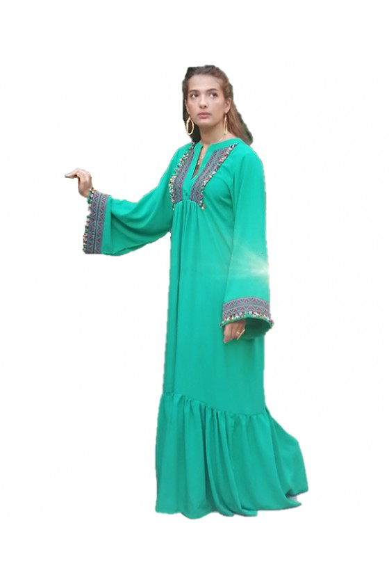 Summer Cotton Abaya 2