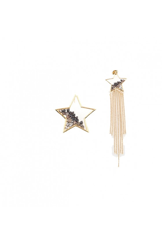Meteoroid Big Star Earring