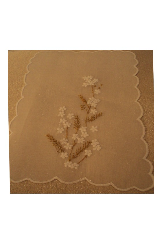 """6 """"Forget me not"""" Napkins"""