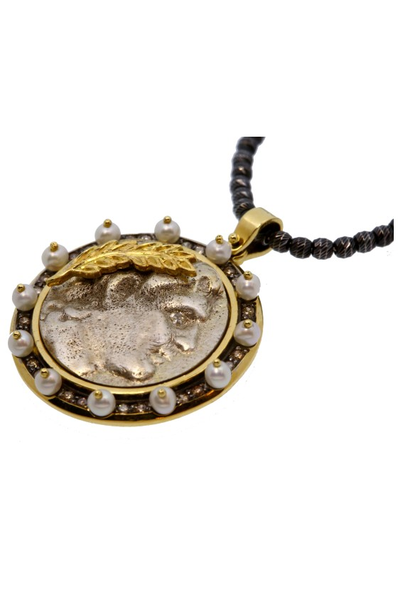 Medieval Coin Pendant