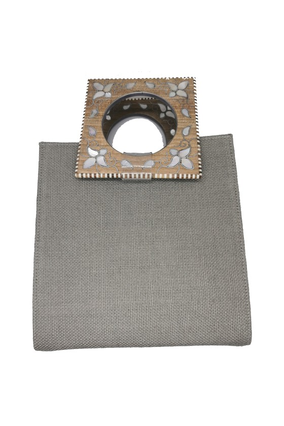 Bag Square Fabric with 2...