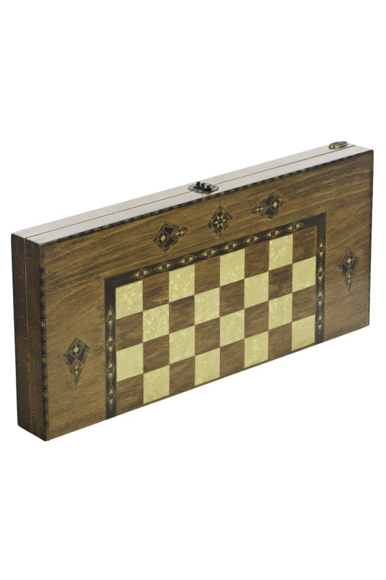 Antique Backgammon & Chess...