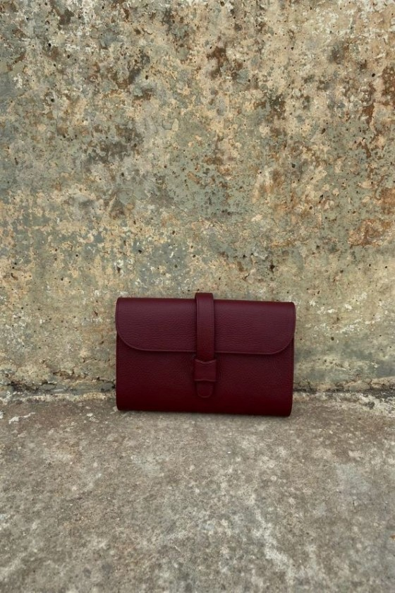 Dark Red Sunset Bag