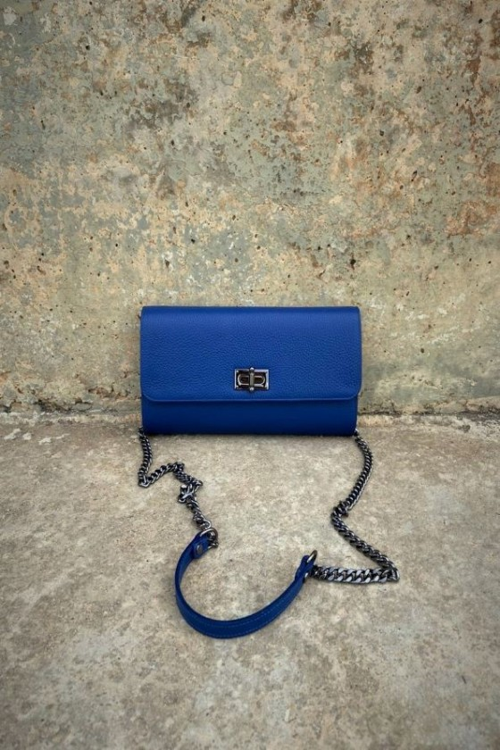 Dark Blue Misk Bag