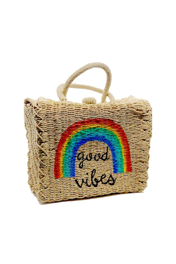 Beach Bag Rainbow