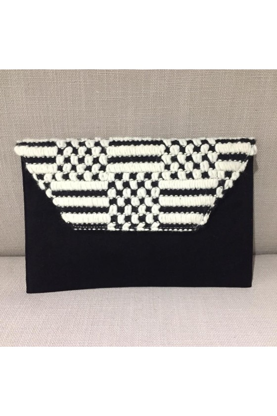 Slim Clutch - Black Velvet