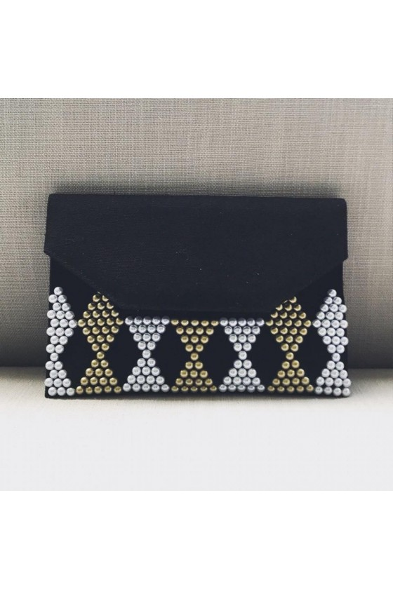 Slim Clutch - Pearls Gold...