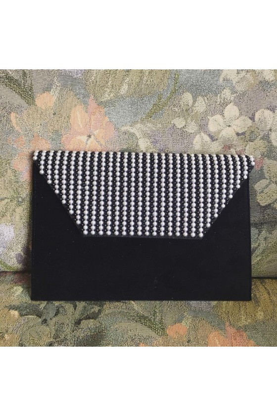 Slim Clutch - Pearls White...