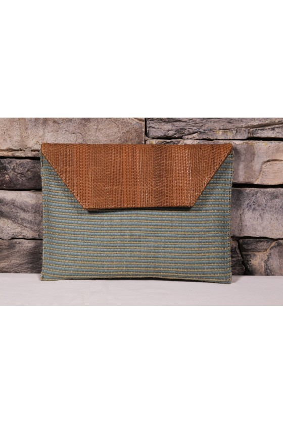 Slim Clutch - Blue and...