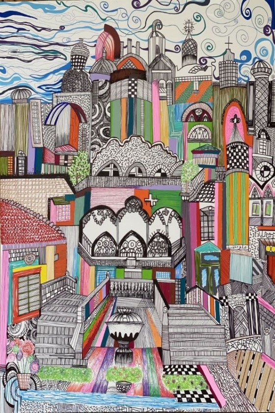"""""""Beyrouth"""" Painting"""