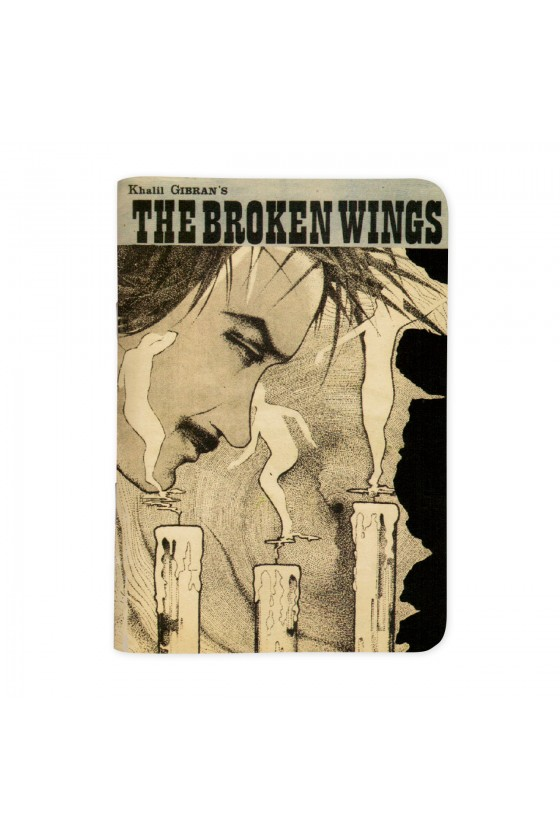 Gibran Broken Wings - Vintage Sketchbook