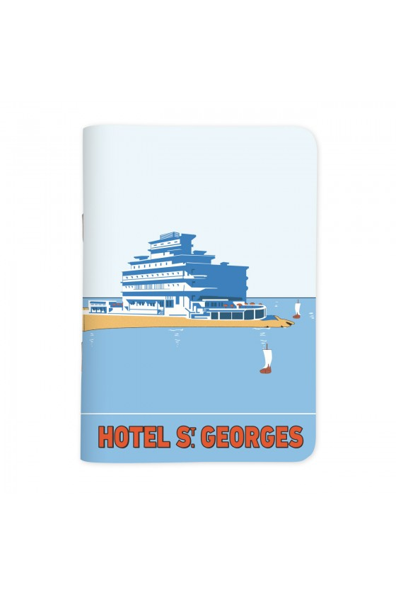 Hotel St. Georges - أوتيل سان جورج - Vintage Sketchbook