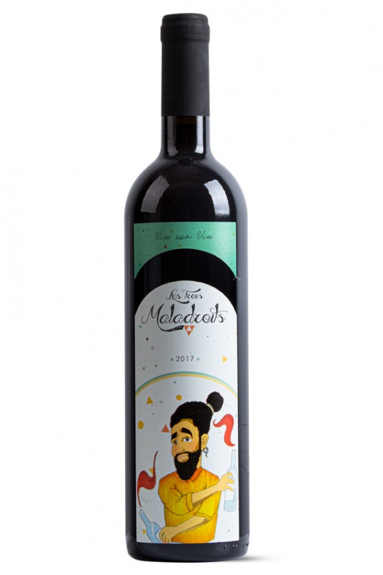 Les Trois Maladroits Red Wine