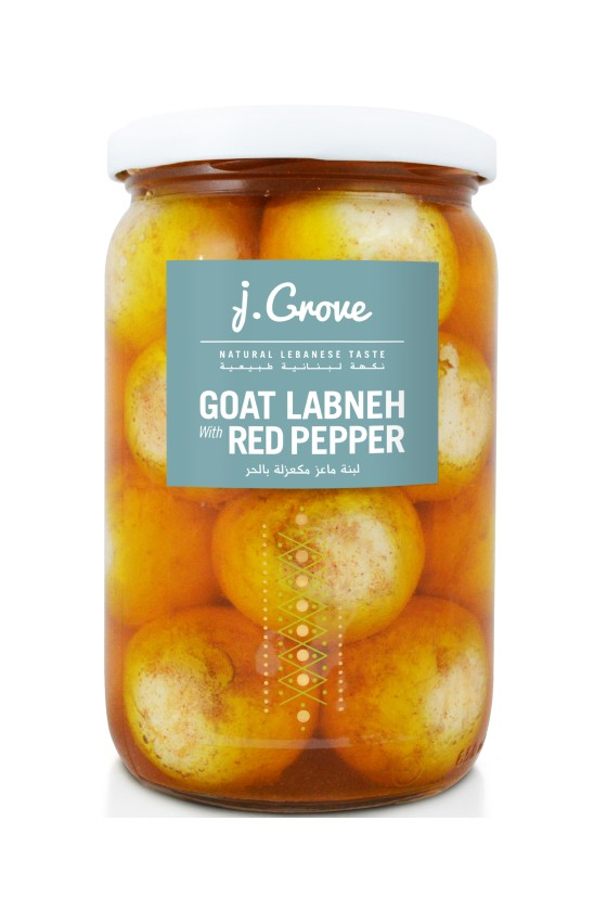 Goat Labneh Red Pepper