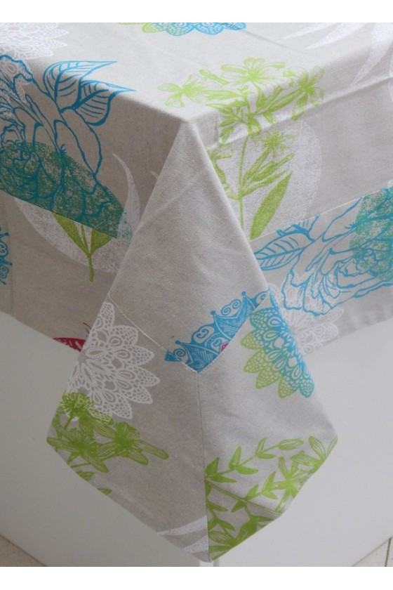 Colored Tablecloth 3