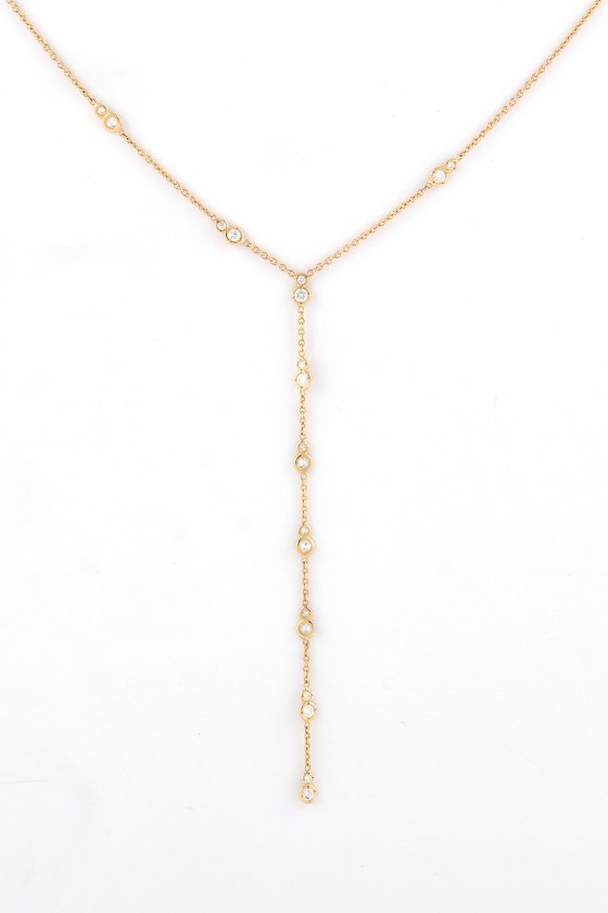 Pendant 18k gold with Round...