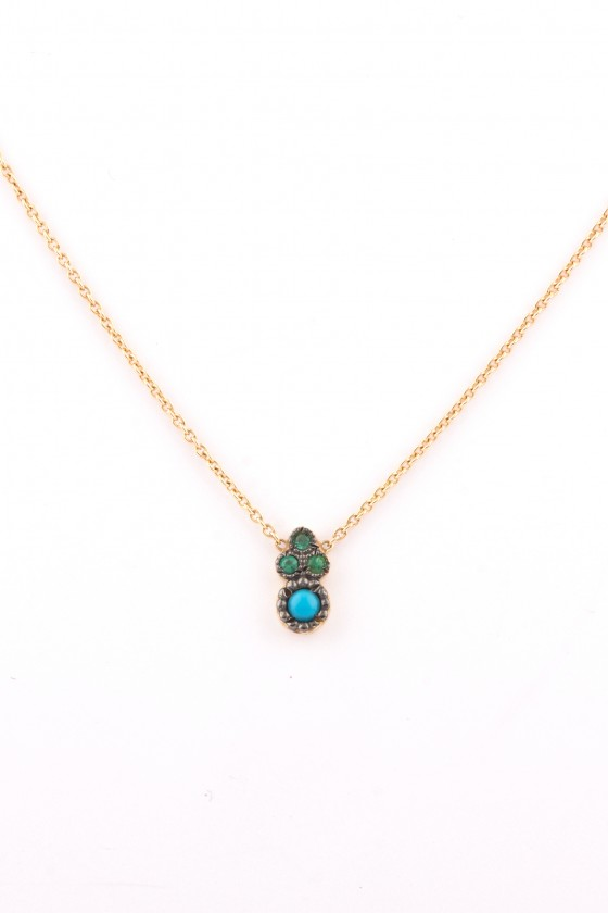 Pendant 18k gold with...