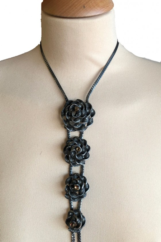 Vintage long chain with 4...