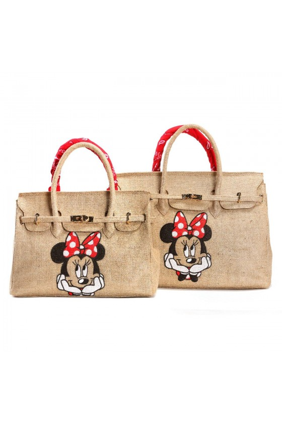 Jute bag with two handles....