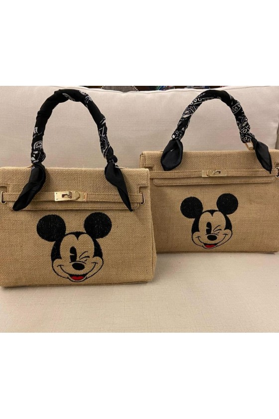 Jute bag with one handle....