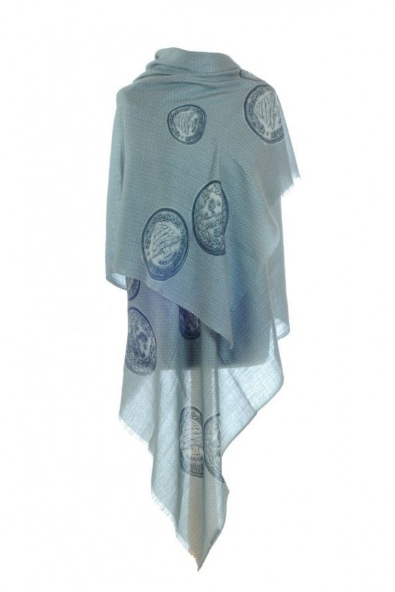 """""""Old coin"""" scarf"""