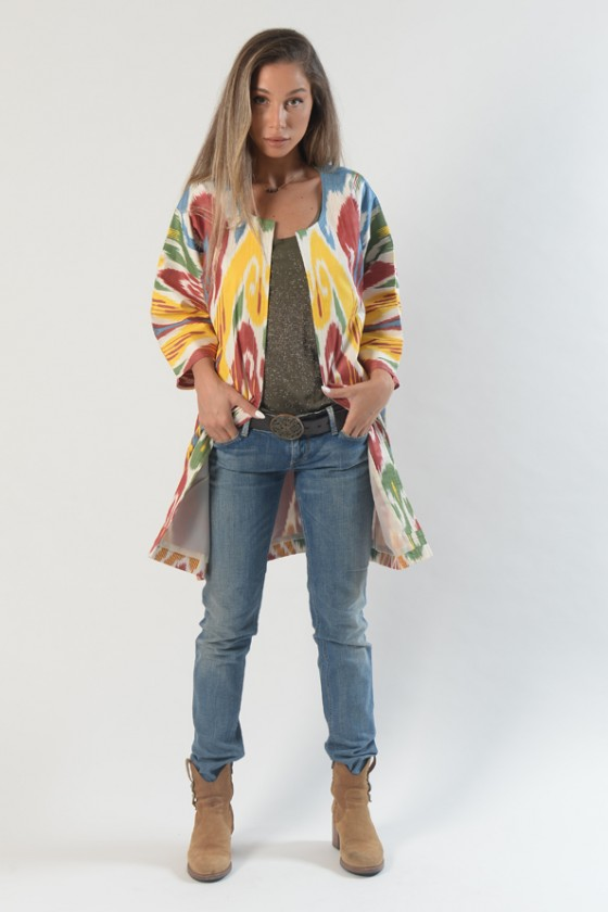 Small Colorful Coat
