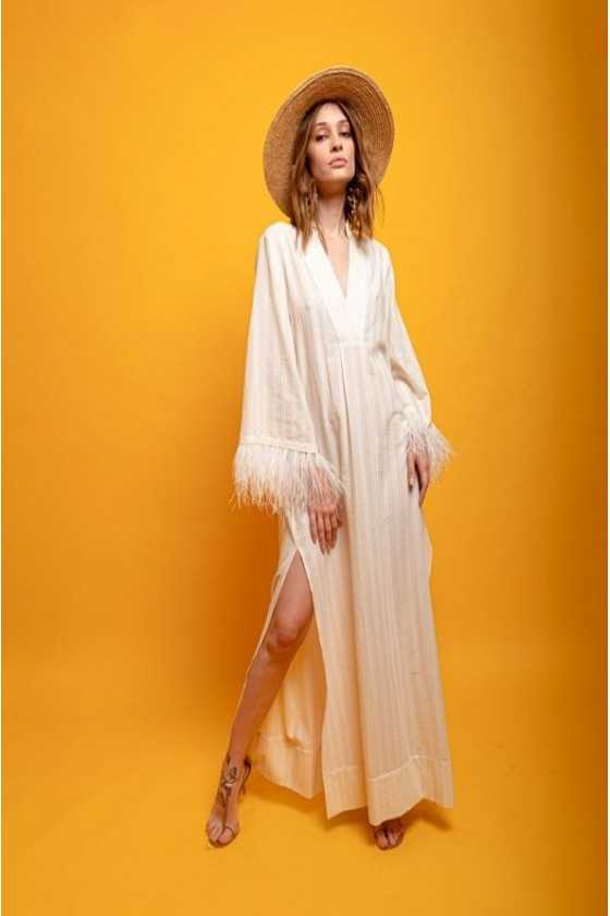 V kaftan cotton with...